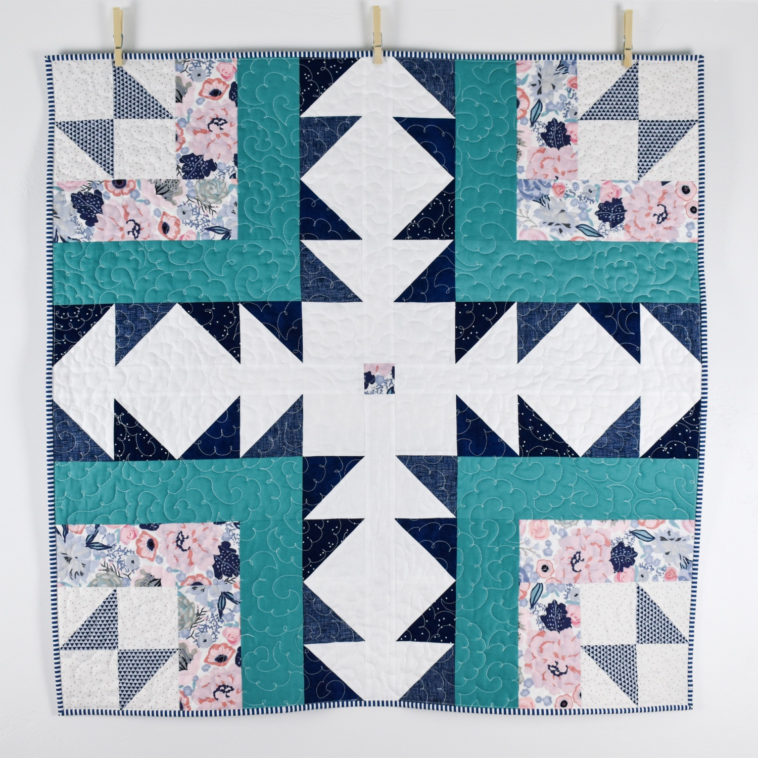 Baby Bear Path | Finished Quilt