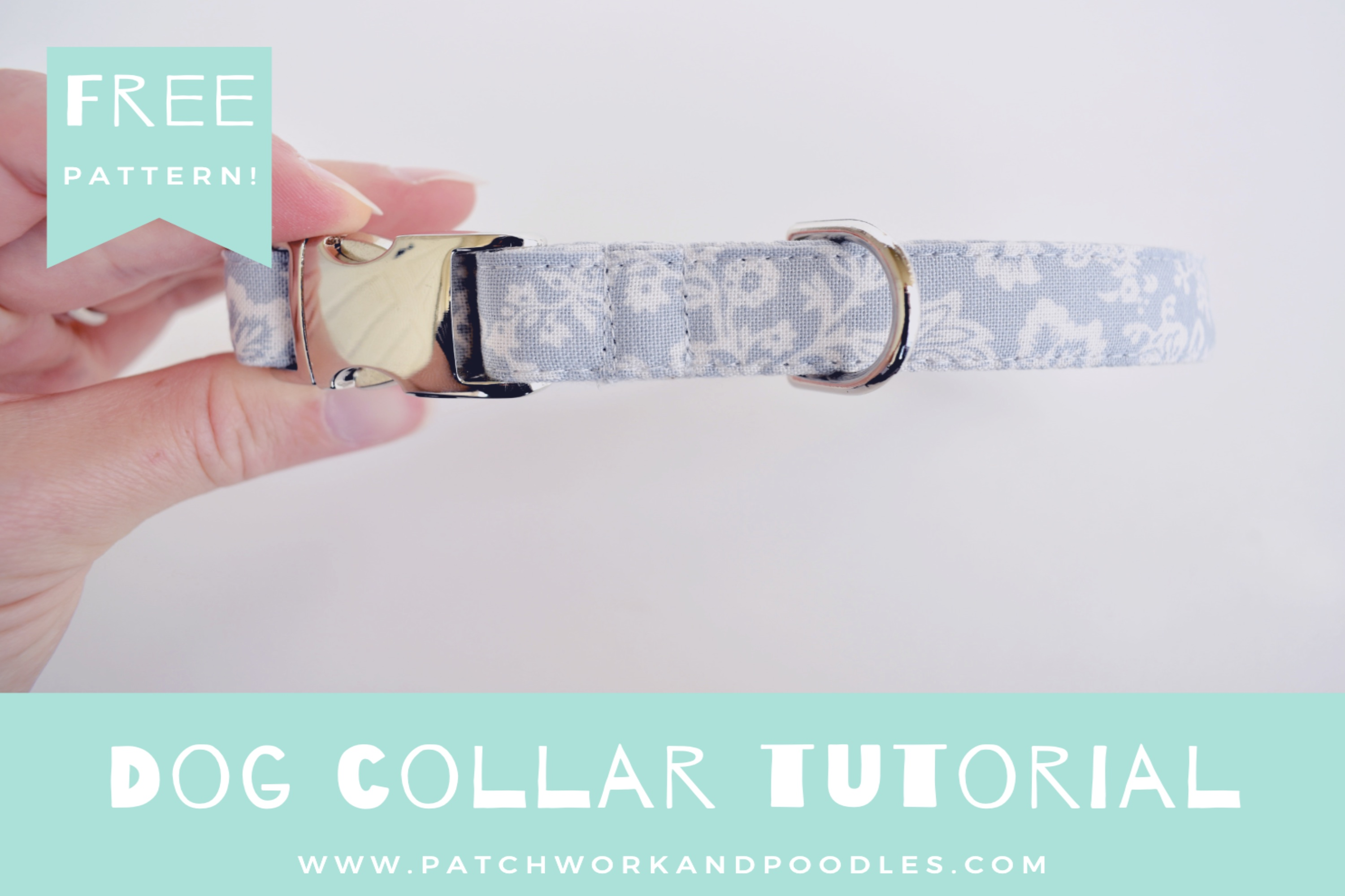 Dog Collar in 4 Sizes | A Tutorial