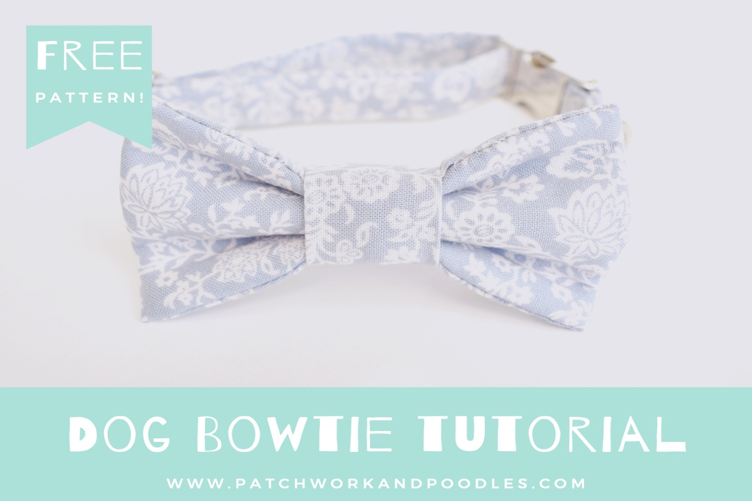 Dog Bowtie | A Tutorial