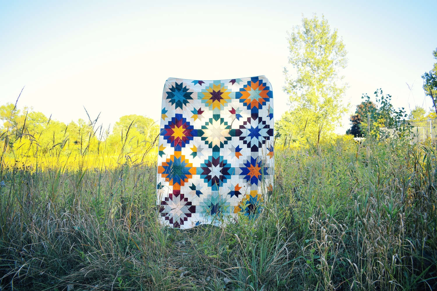 Harvest Star | A Quilt Pattern