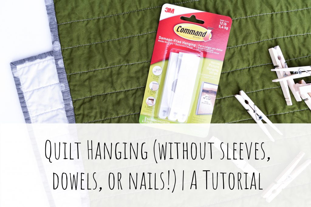 Hang a quilt quickly and easily