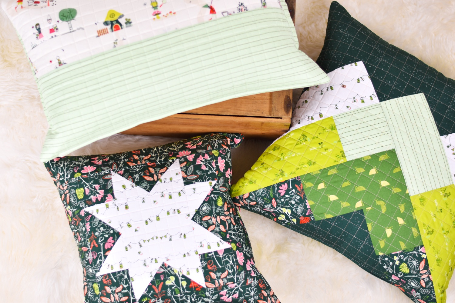 Zippered Throw Pillows in 3 Sizes| A Tutorial