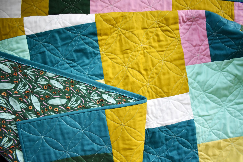 Concrete Jungle quilt pattern