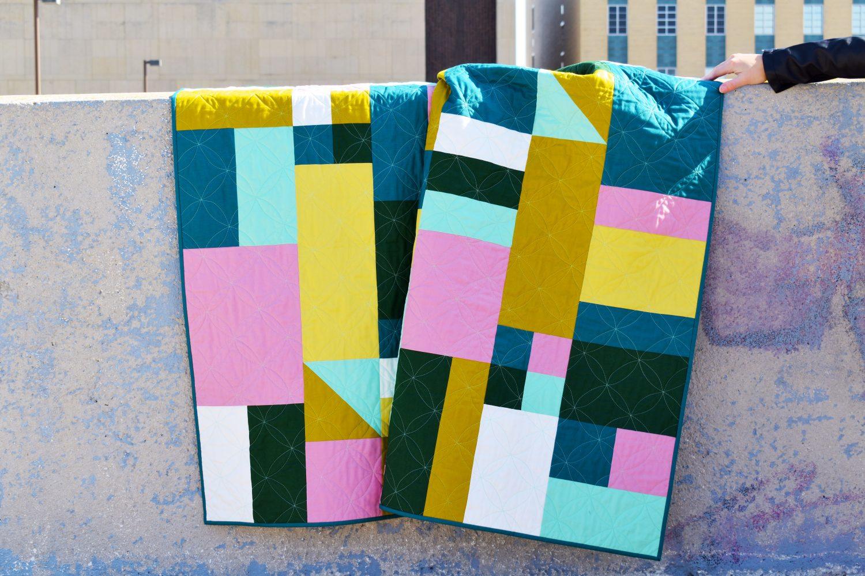 Concrete Jungle Modern Quilt Pattern
