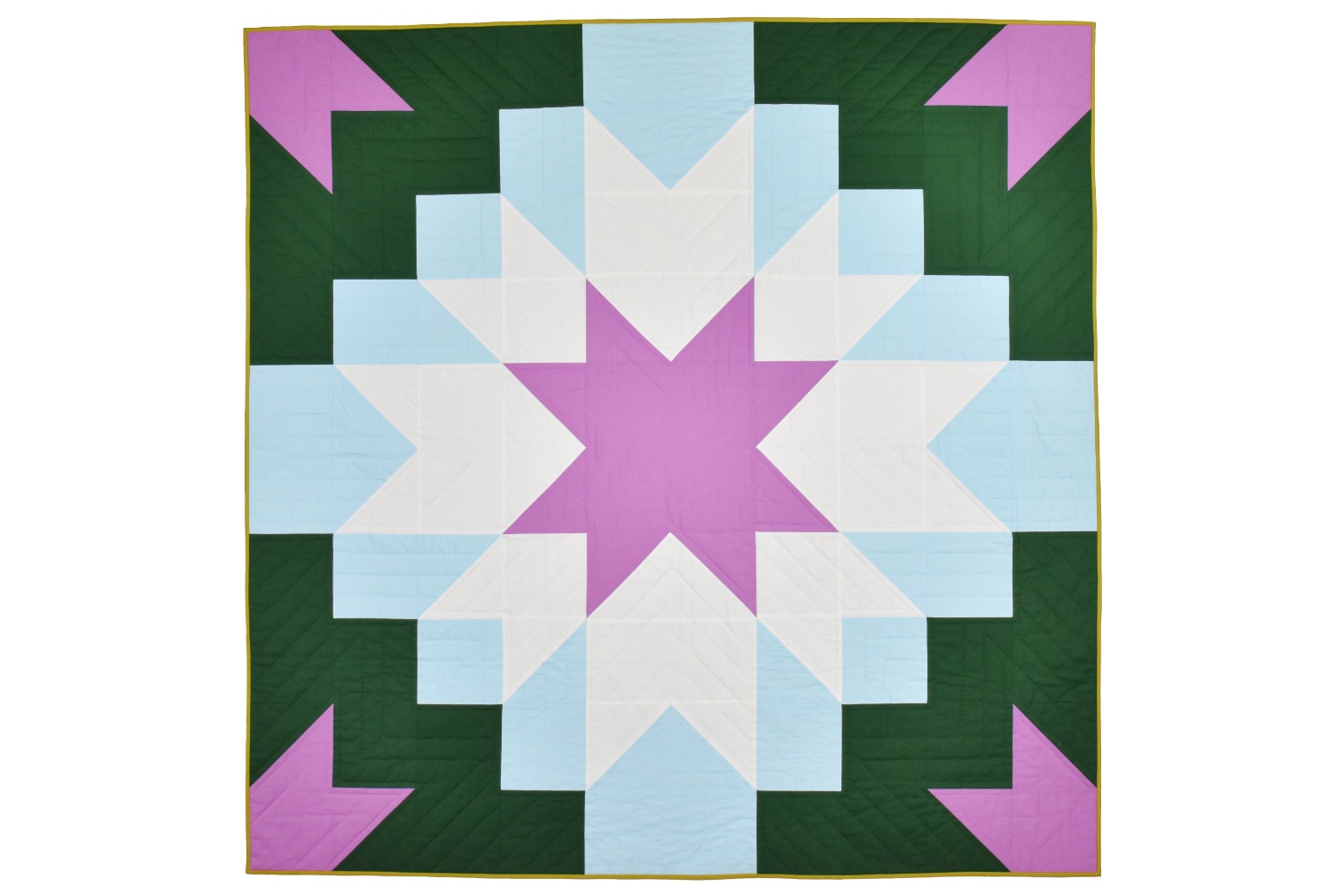 Etoile Quilt   Cover Quilt & Testers