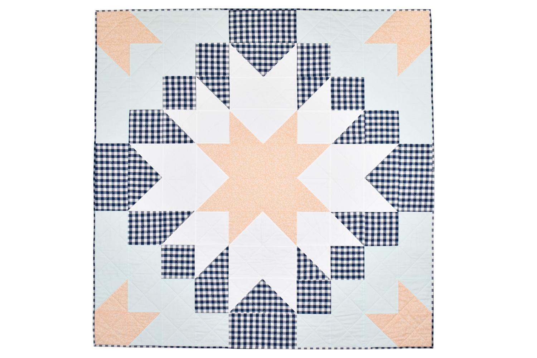Etoile Quilt | Farmhouse Version