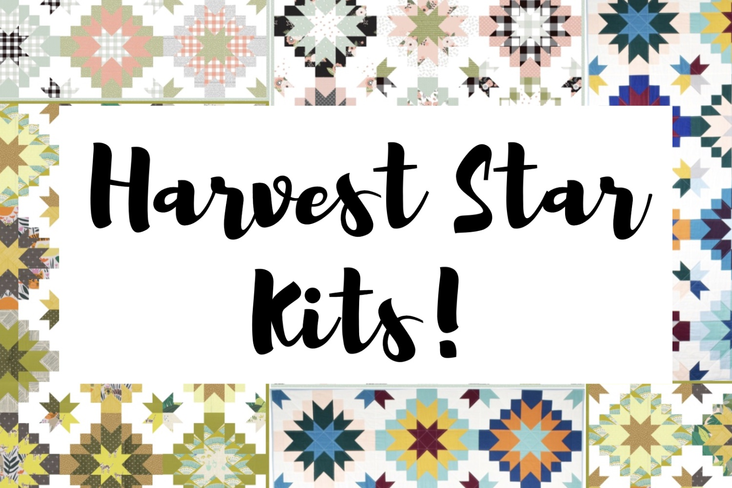 Kits! | Harvest Star QAL