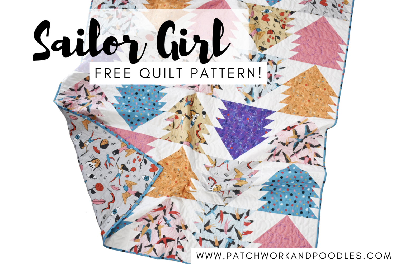 Sailor Girl | FREE Quilt Pattern!