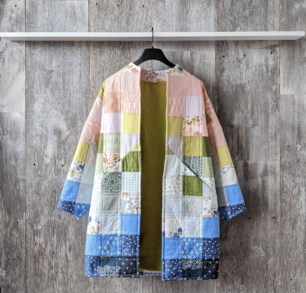how to make a quilt coat