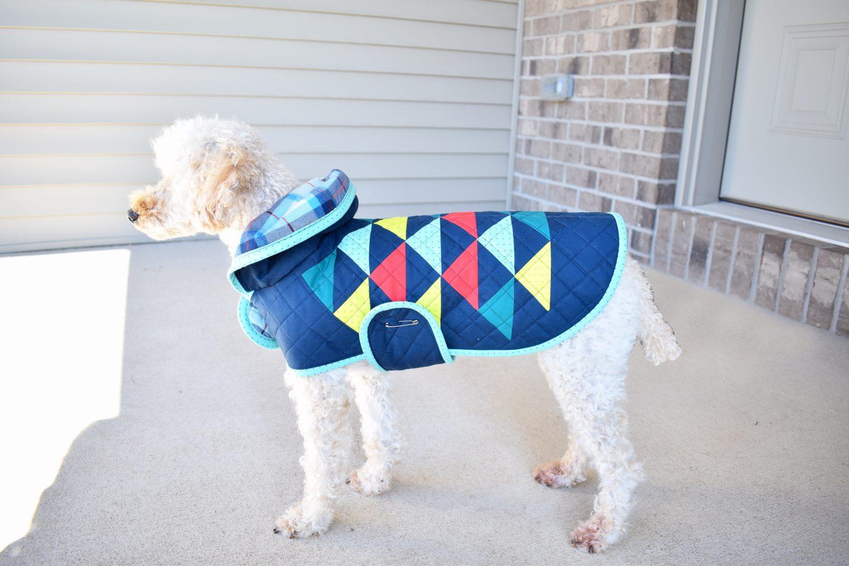 DIY Dog Quilt Coat