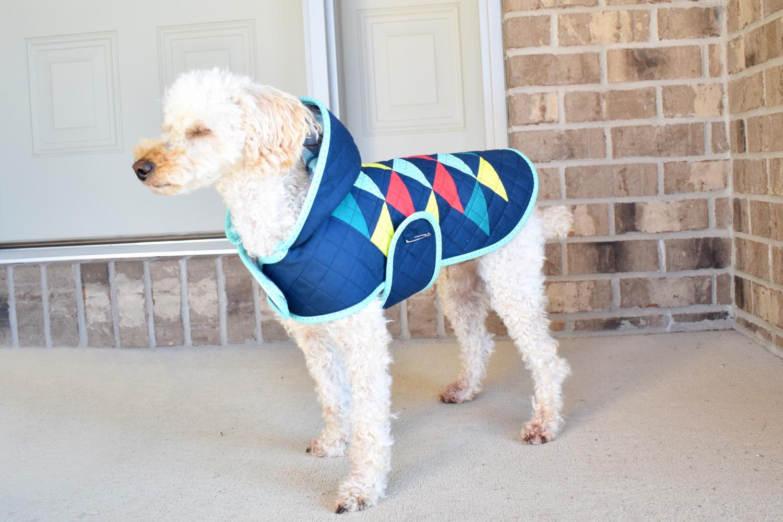 Dog Quilt Coat!