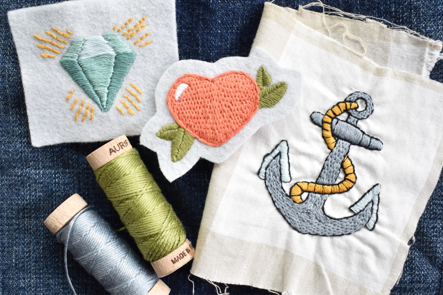 Embroidered Patches | Visible Mending