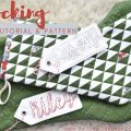Free quilted christmas stocking video tutorial in two sizes
