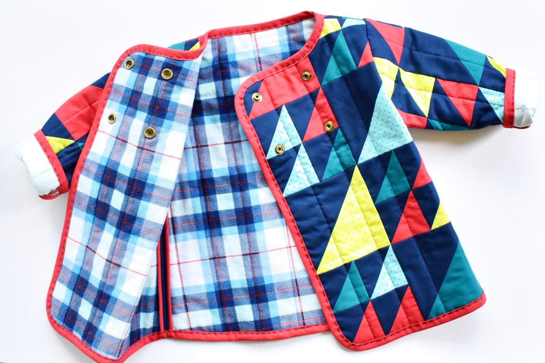 toddler quilt coat diy