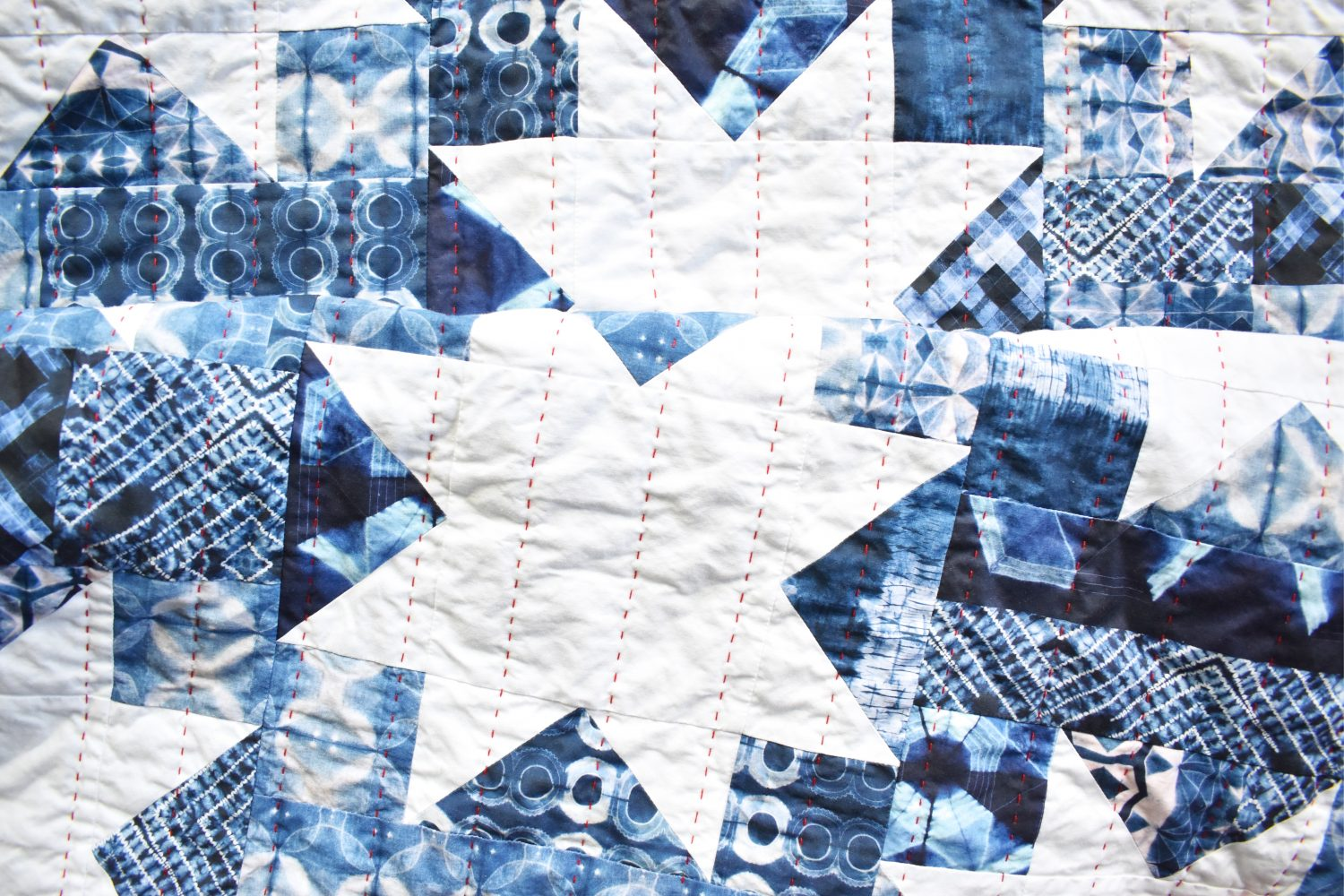 hand quilting takes a while but the reward is a beautiful quilt