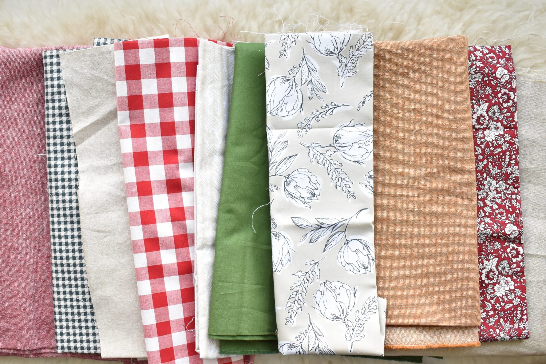 Fabrics for more Christmas stockings