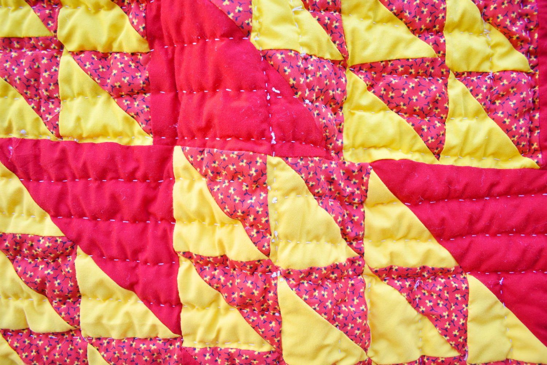 A handmade quilt coat
