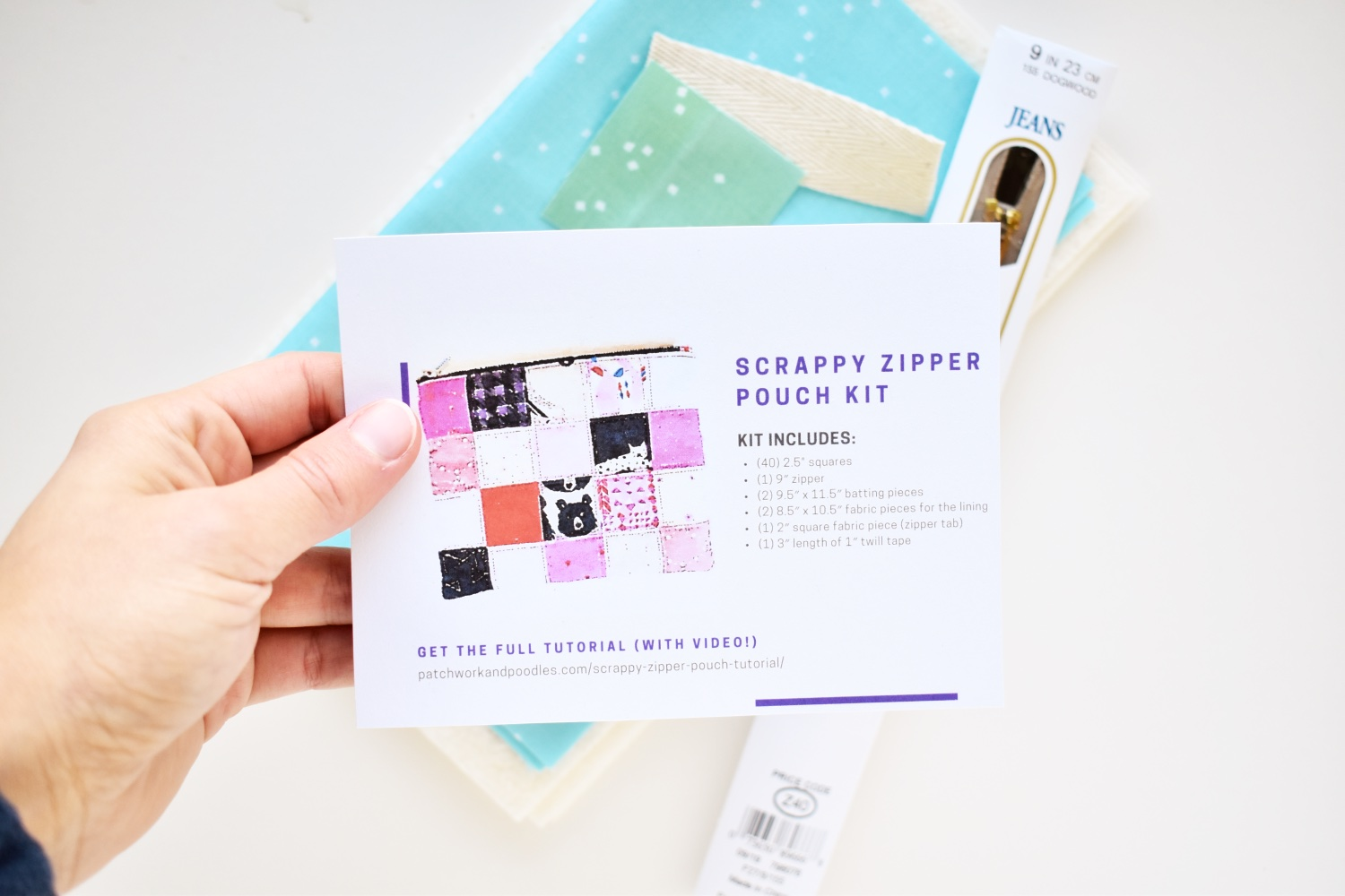 Gifts for Fellow Quilters: Make them a project kit!