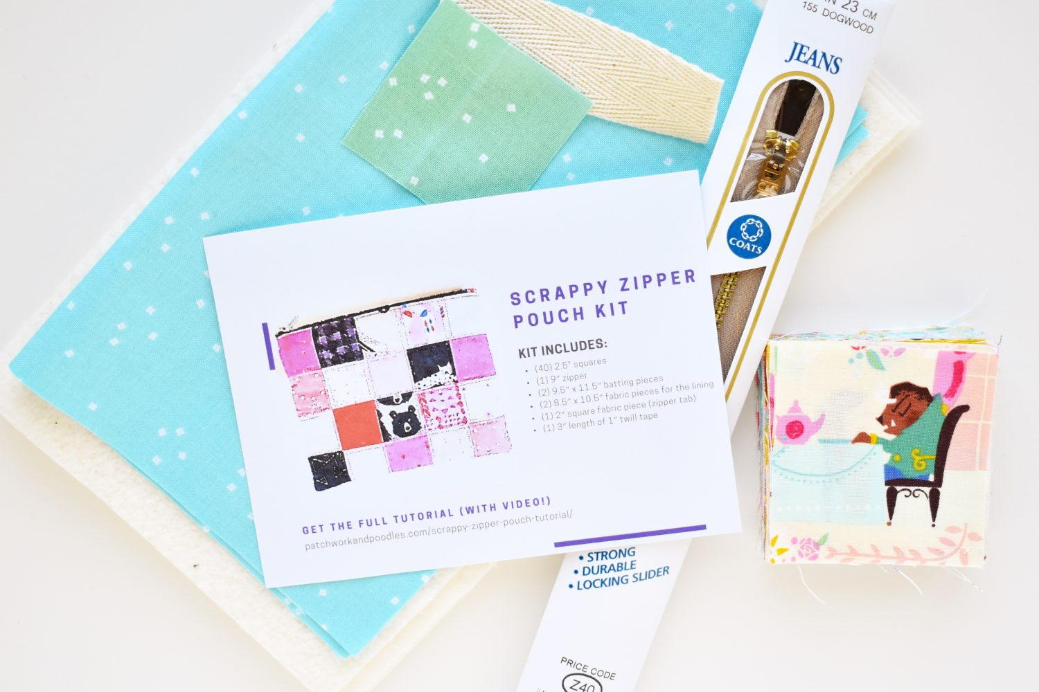 Make your friends one of three project kits as gifts with free tutorial and printable card!