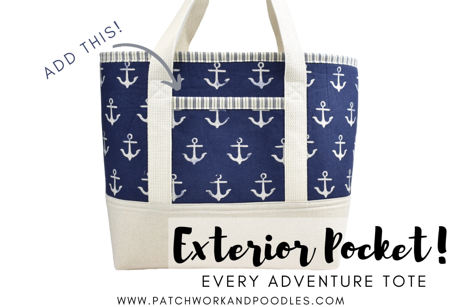 Exterior Pocket | Every Adventure Tote Bag