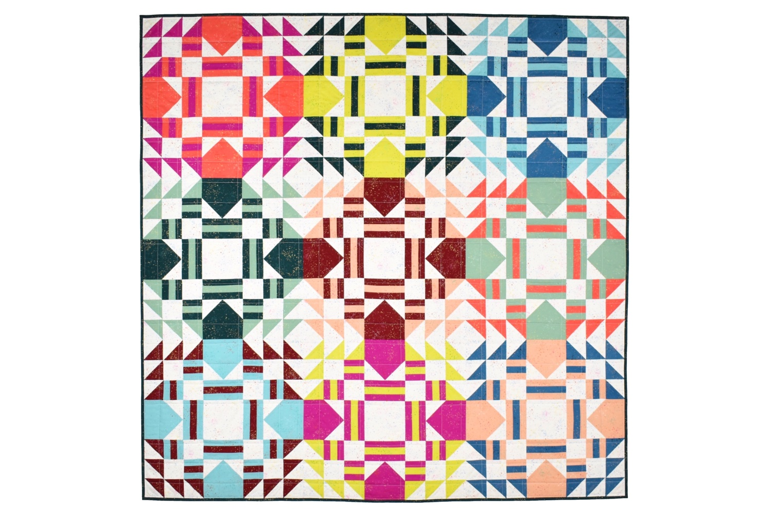 Everglow Quilt | A Pattern