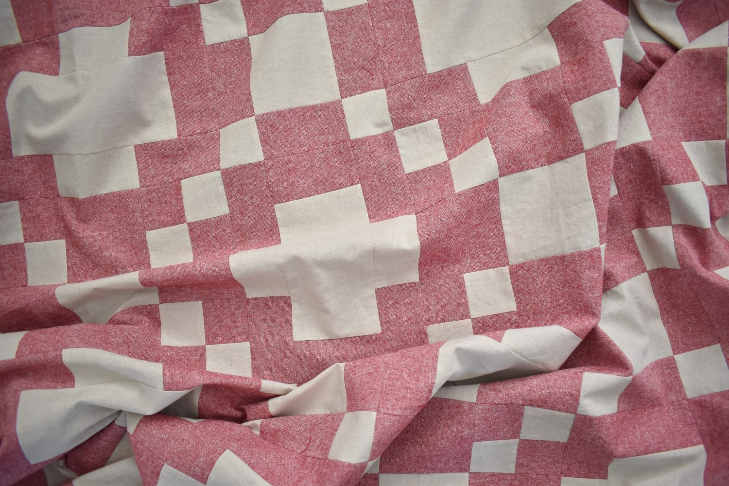 Modern Crossing Quilt throw size