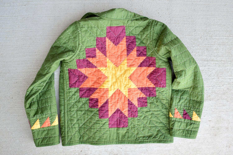 Harvest Star Patchwork Chore Coat