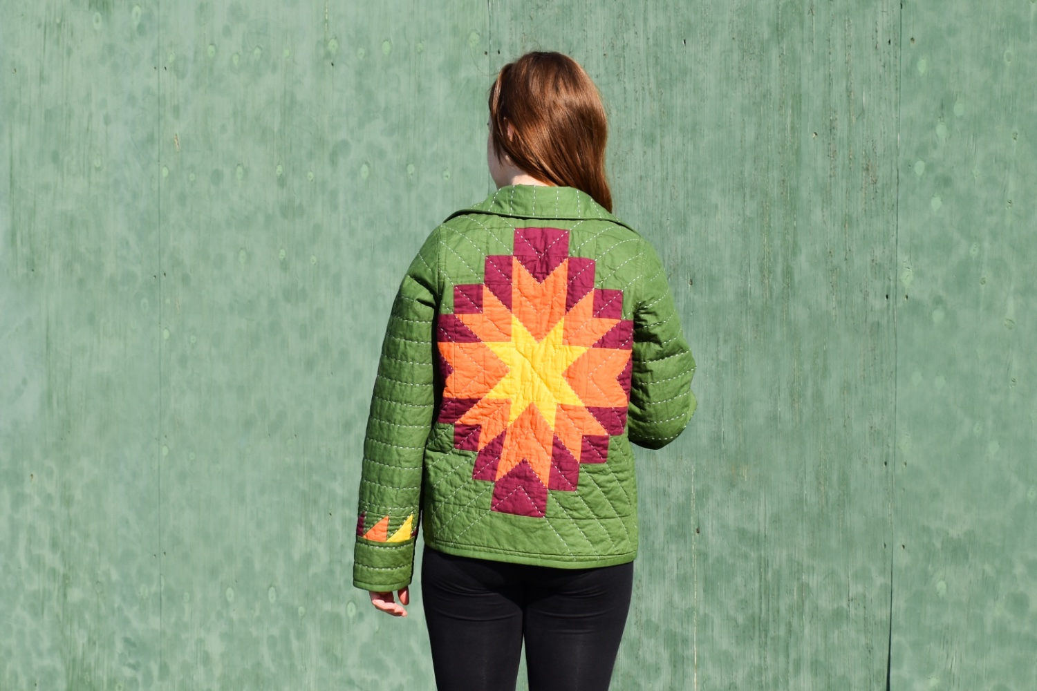 Harvest Star Quilt Coat