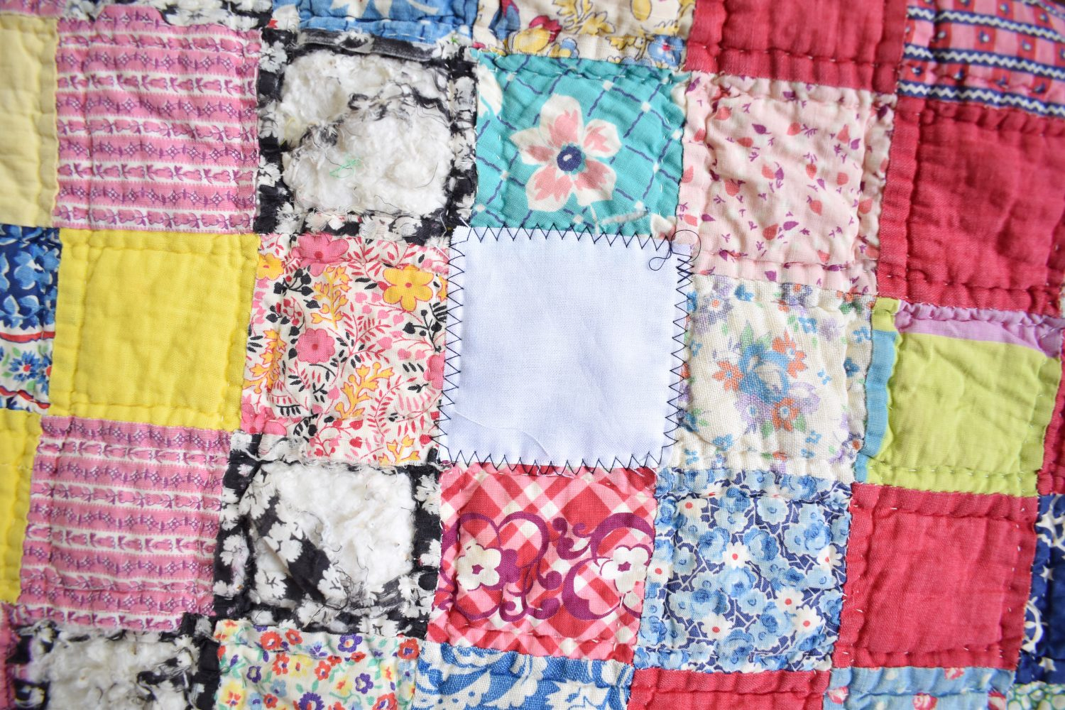 The quick mend for quilts