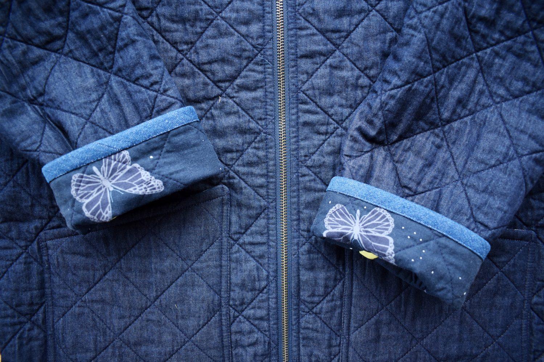 coat cuff details
