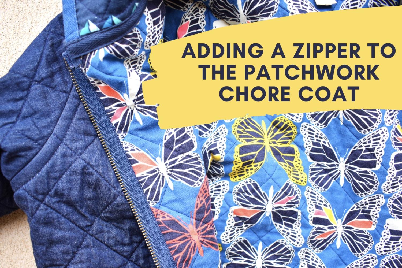 Zipper Patchwork Chore Coat Hack