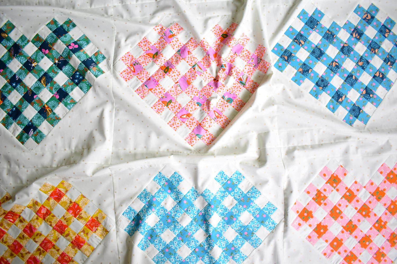 Woven Hearts flimsy