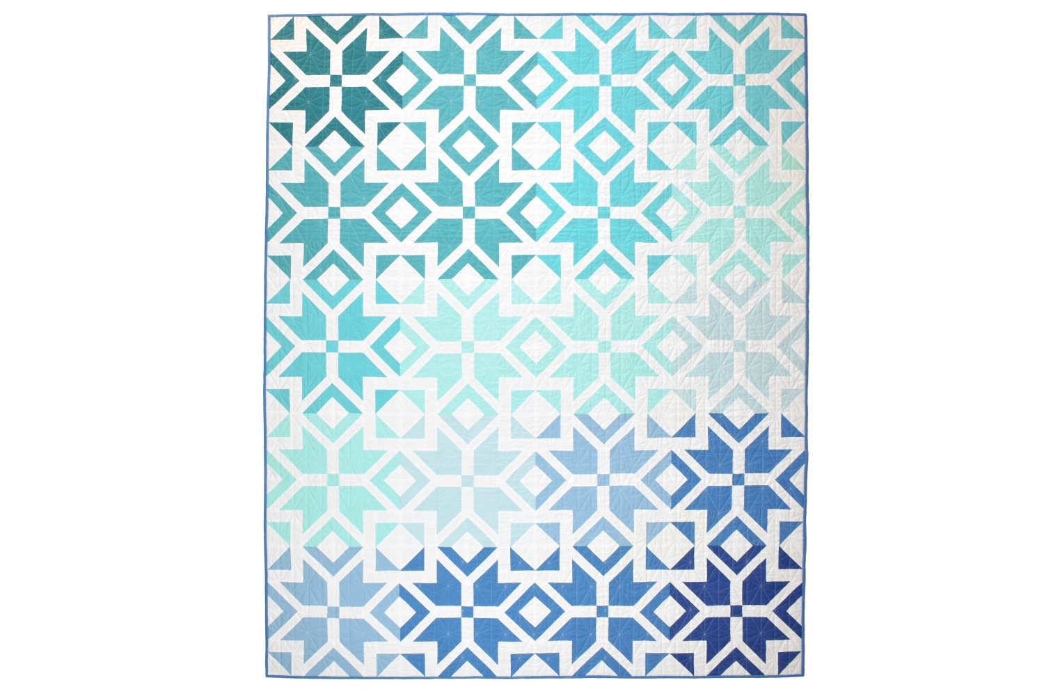 Nordic Star Ombre Quilt