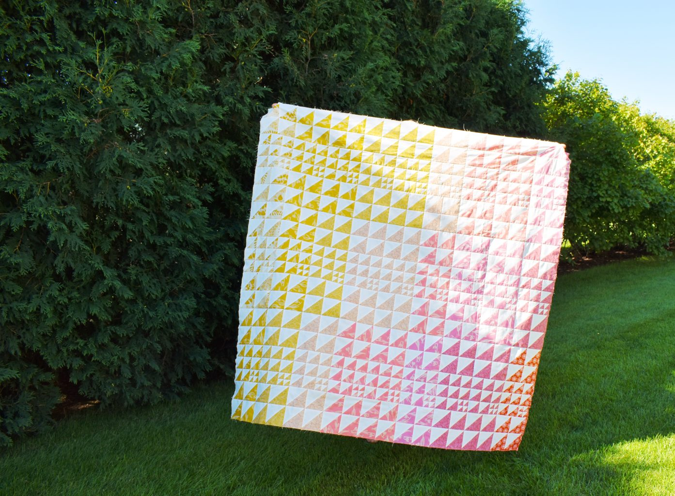 Wonderie quilt in Unruly Nature fabrics